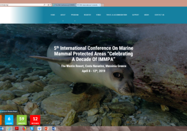 LIFE Madeira Monk Seal at the 5th International Conference on Marine Protected Areas in Greece