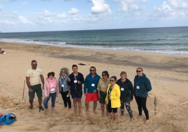 To all the people who collaborated for the welfare of the little monk seal in Porto Santo, thank you very much for your commitment and dedication!